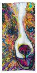 Patches Beach Towel