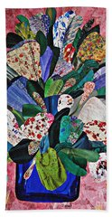 Patchwork Bouquet Beach Towel