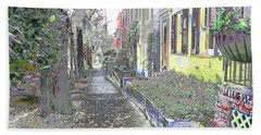 Beach Towel featuring the photograph Path Beyond by EDi by Darlene