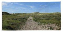 Path In The Noordhollandse Duinreservaat Beach Sheet