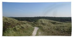 Path In The Dunes Of Schoorl Beach Towel