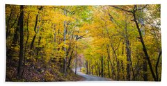 Path Of Many Colors Beach Towel