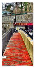 Path To Ellicott City Beach Towel