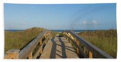 Path To Happiness Beach Sheet