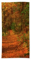 Path To Myklebust Lake Beach Towel by Trey Foerster