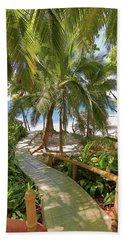 Path To Paradise Beach Towel