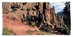 Path To Red Rocks Beach Sheet