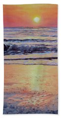 Pathway To Dawn - Outer Banks Sunrise Beach Towel