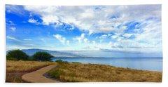 Pathway To Heaven Beach Towel