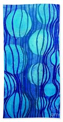 Pathways Abstract 1 Beach Towel