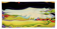Pathways To Peaceful Possibilities Beach Towel