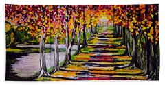 Pathyway To The Light Beach Towel