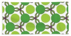 Pattern Green Beach Sheet