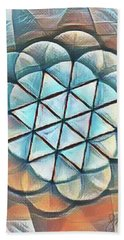 Patterns Of Life Beach Towel