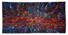 Patterns Of The Universe Beach Towel