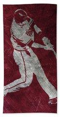 Paul Goldschmidt Arizona Diamondbacks Art Beach Sheet by Joe Hamilton