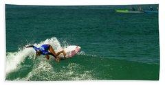 Pauline Ado Surfer Girl Beach Sheet