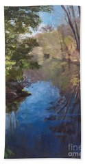 Pawtucket Canal Beach Towel