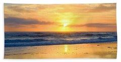 Pea Island In November Beach Sheet