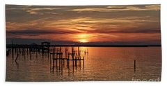 Peace Be With You Sunset Beach Towel
