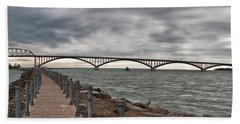 Peace Bridge Beach Towel