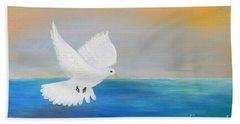 Peace Descending Beach Towel