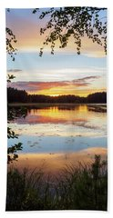 Peace In Nature Beach Towel