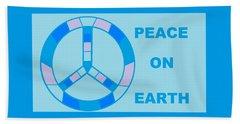 Peace On Earth 3 Beach Towel