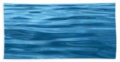 Peaceful Blue Beach Towel