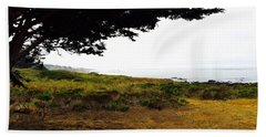 Peaceful Coast Beach Towel