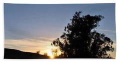 Beach Sheet featuring the photograph Peaceful Country Sunset  by Matt Harang