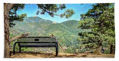 Peaceful Encounter Beach Towel