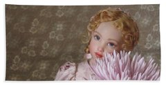 Beach Towel featuring the photograph Peaceful Kish Doll by Nancy Lee Moran