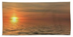 Peaceful Sunrise Beach Sheet