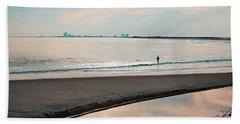 Peaceful Sunset Holgate Beach Towel