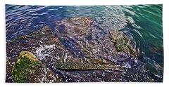Peaceful Waters2 Beach Sheet