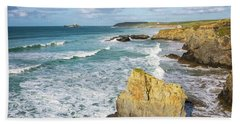 Peaceful Waves Beach Towel