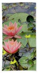 Peach Lily Beach Sheet
