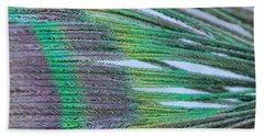 Peacock Abstract Beach Sheet