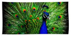Peacock Paradise Beach Sheet