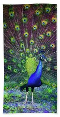Peacock Series 9801 Beach Towel
