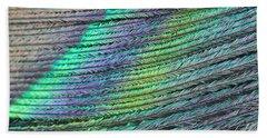 Peacock Stripes Beach Sheet