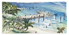 Peanut Island Beach Sheet