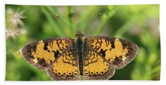 Pearl Crescent Beach Towel