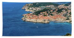 Pearl Of The Adriatic, Dubrovnik, Known As Kings Landing In Game Of Thrones, Dubrovnik, Croatia Beach Sheet