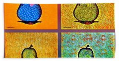 Pears And More Pears Beach Towel