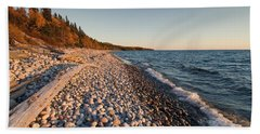 Pebble Beach Autumn    Beach Sheet