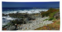Pebble Beach Beach Towel