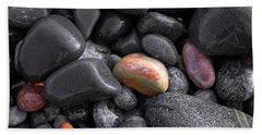 Pebble Jewels   Beach Towel