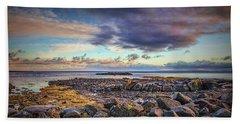 Pebbles And Sky  #h4 Beach Towel